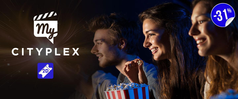 Biglietti 2D cinema My Cityplex Roma Sud