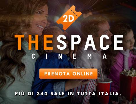 Biglietto 2D adulto e 2 bambini The Space
