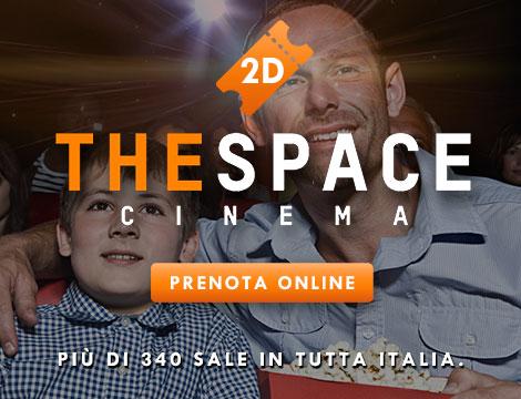 Biglietto 2D adulto e bambino The Space