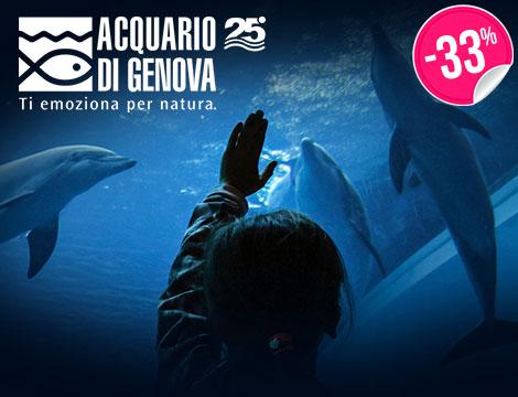 Biglietti Acquario di Genova