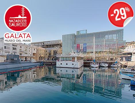 Biglietto singolo Galata Museo del Mare_N