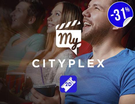 Biglietti 2D cinema My Cityplex Roma Nord