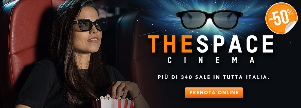 Biglietto singolo 3D The Space_N