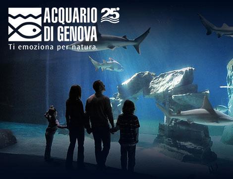 Biglietti famiglia Acquario di Genova
