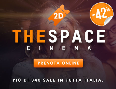 Biglietto 2D cinema The Space_N