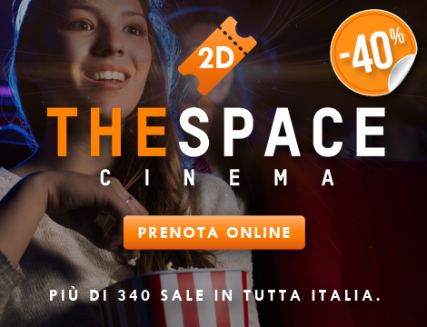 Biglietto singolo 2D The Space