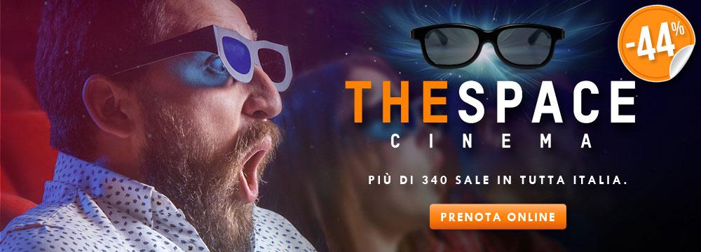 Biglietto singolo The Space 3D