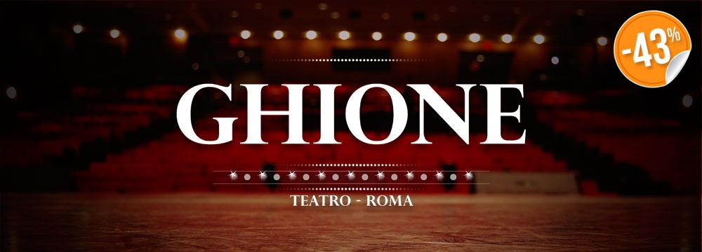 Card 2 ingressi al Teatro Ghione