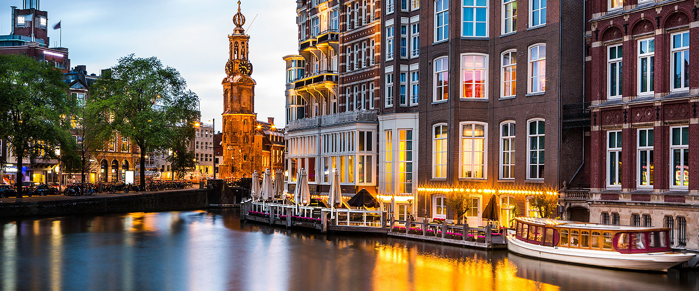 canal cruise of Amsterdam