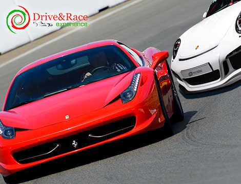 Giro in Ferrari 458 Italia e Porsche Gt3