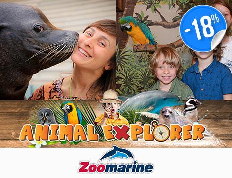 Ingresso singolo Zoomarine Animal Explorer