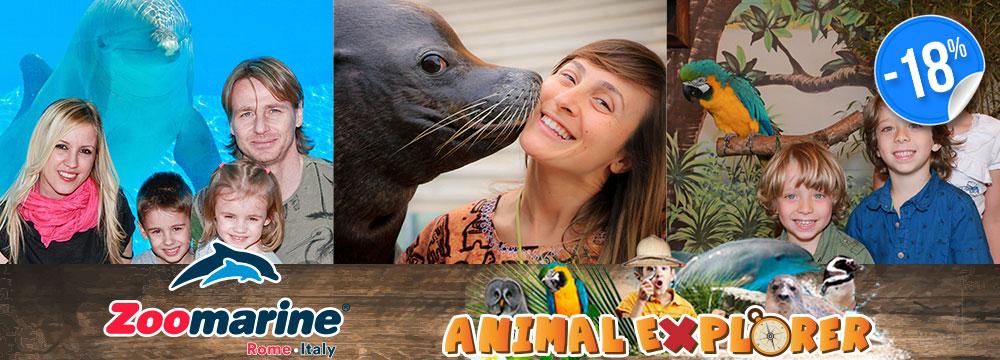 Ingresso singolo Zoomarine Animal Explorer