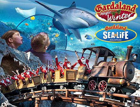 Ingresso Gardaland Magic Winter e Sealife