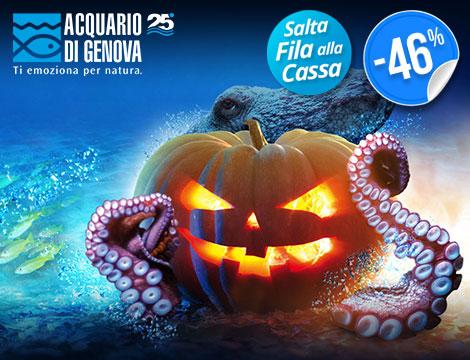 ngresso all'Acquario di Genova