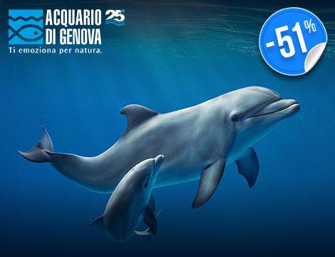Ingresso x2 Acquario di Genova