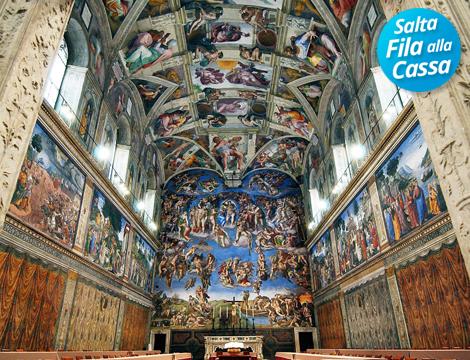 Musei Vaticani e Cappella Sistina: biglietti salta fila