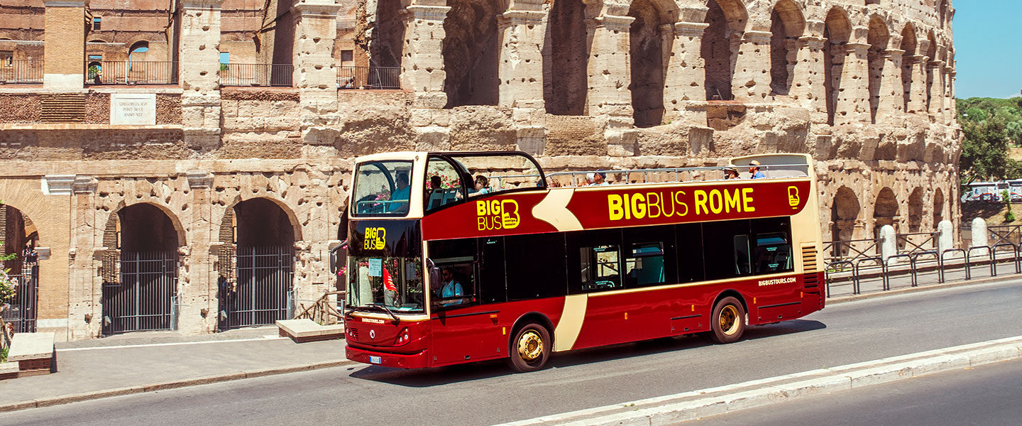 Big bus tours Roma