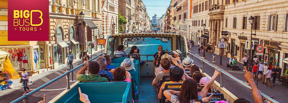 Big bus tours Roma