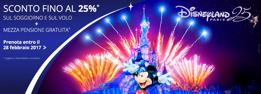 Soggiorno e ingresso a Disneyland