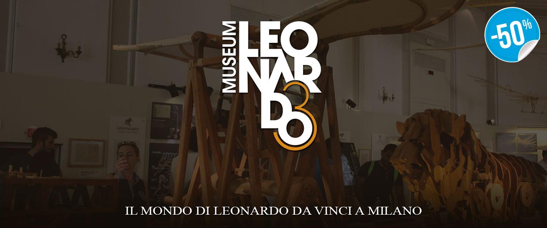 Ticket Fun Ingresso Il Mondo di Leonardo_N