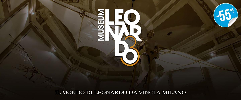 Ticket Fun Ingresso x2 Il Mondo di Leonardo_N