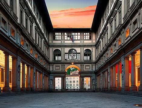 Tour di Firenze e della Galleria degli Uffizi_N
