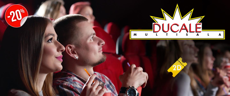 Biglietti 2D Cinema Ducale al 20% di sconto | ilTuoTicket
