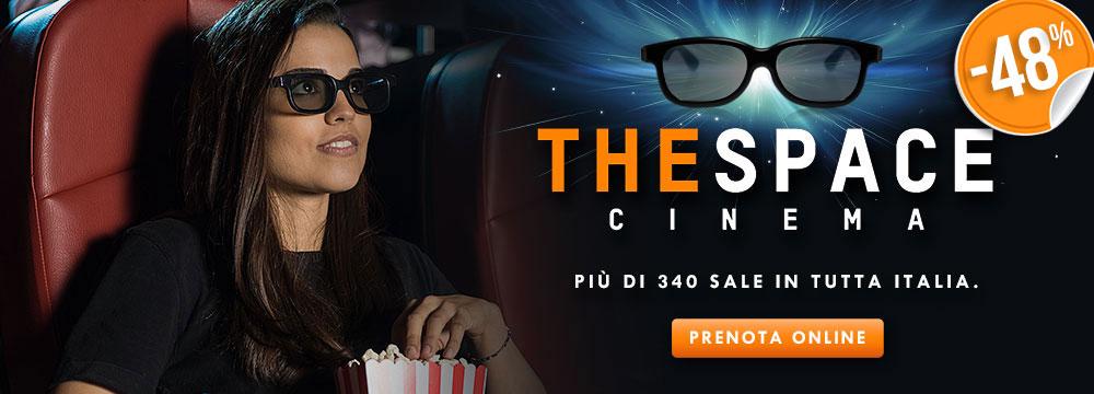 The Space cinema biglietti: prezzi, offerte e promozioni | ilTuoTicket